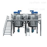 GDZRJ-500L系列全自动真空乳化成套设备介绍