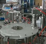 塑料圓瓶全自動轉盤式旋蓋機