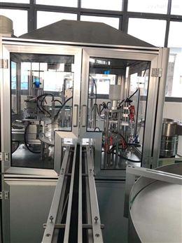 高效自动指甲油灌装贴标生产线