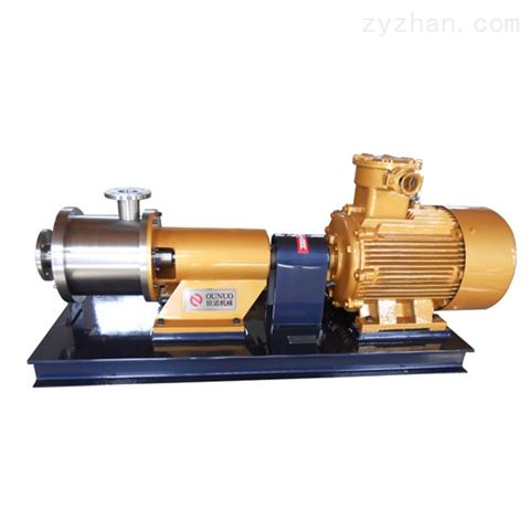 三级管线式乳化机/泵(隔爆型)