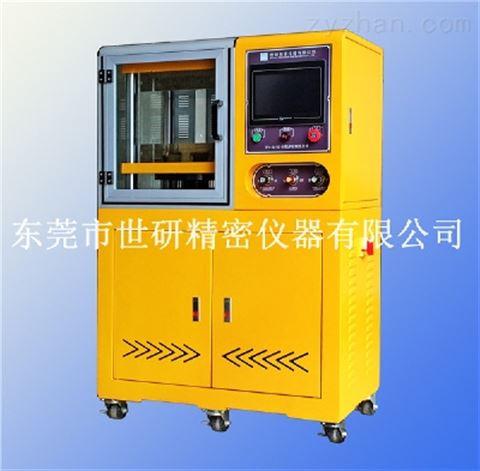 SY-6210-B程序控制小型平板硫化机-单层