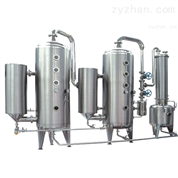 WZII系列双效酒精回收浓缩器设备