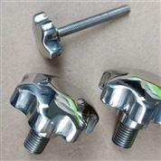 不銹鋼梅花手輪螺母絲桿五星型螺栓把手螺桿