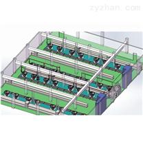 卤水抽滤混合分配系统