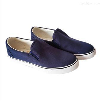 3-006A海蓝色(加厚底)低帮鞋