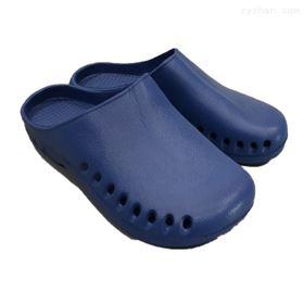 蓝色包头防护鞋