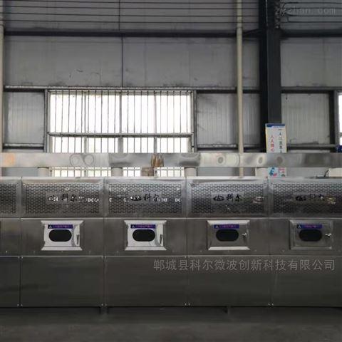 科尔新品微波隧道式杀菌干燥设备