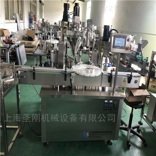 上海全自动西林瓶粉剂灌装机圣刚报价