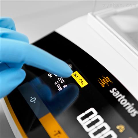 赛多利斯触摸屏密码保护进口电子分析天平