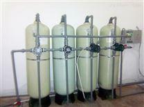 1T/H 离子交换树脂设备+混床超纯水设备 工业超纯水设备