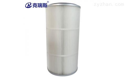 PTFE覆膜除尘滤芯350x240x660快装式滤筒