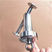 不锈钢19MMY型抛光快装焊接法兰连接过滤器