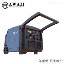 静音箱4kw数码汽油发电机房车用
