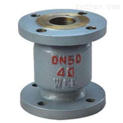 H42H铸钢立式止回阀/碳钢立式止回阀PN16~PN25