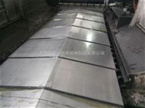 深孔镗床伸缩钢板防护罩