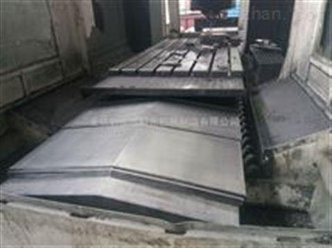 重庆数控机床导轨钢板防护罩