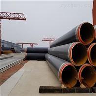 胶南市预制塑套钢热水输送保温管