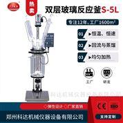 雙層玻璃反應釜S-5L