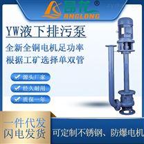YW不锈钢液下泵 可定制耐腐蚀液下排污泵