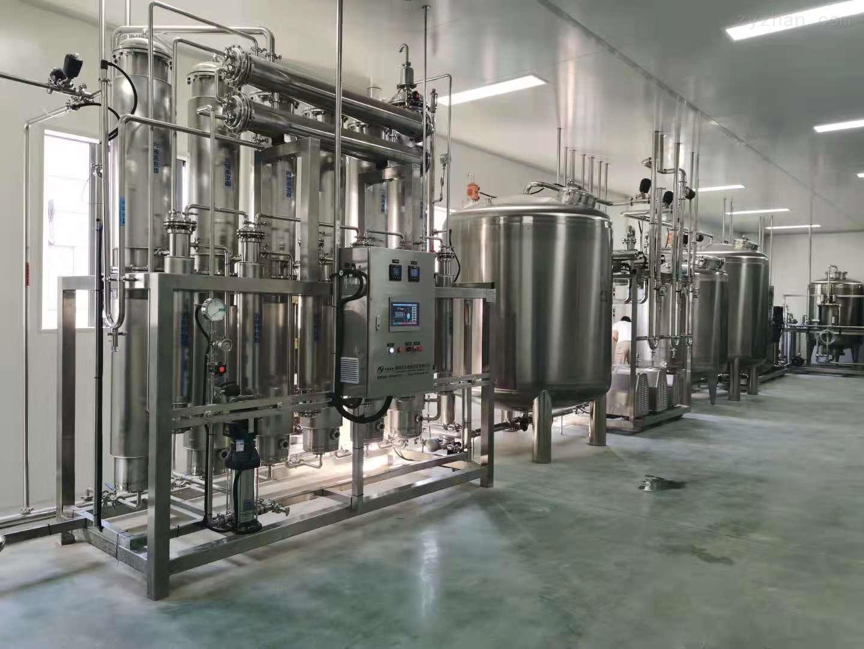 6t纯水系统,1t注射水系统,500L纯蒸汽,安装调试顺利完成!