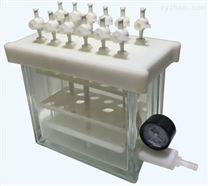 SPE-12N固相萃取儀真空槽純玻璃一體成形,防腐蝕