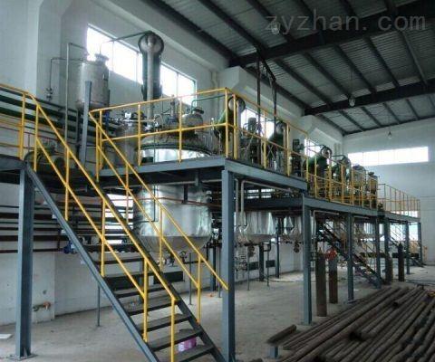 丙烯酸树脂生产线设备以及带点控制工艺流程