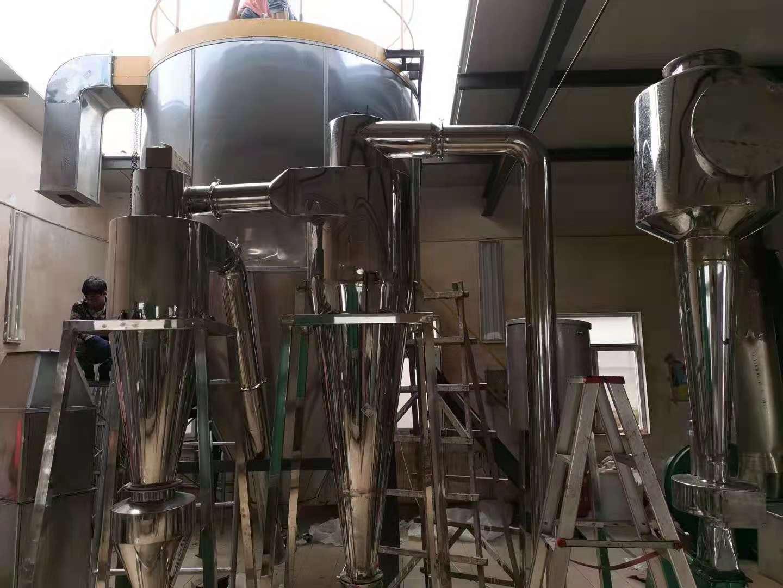 云南农业大学食品级喷雾干燥机安装现场