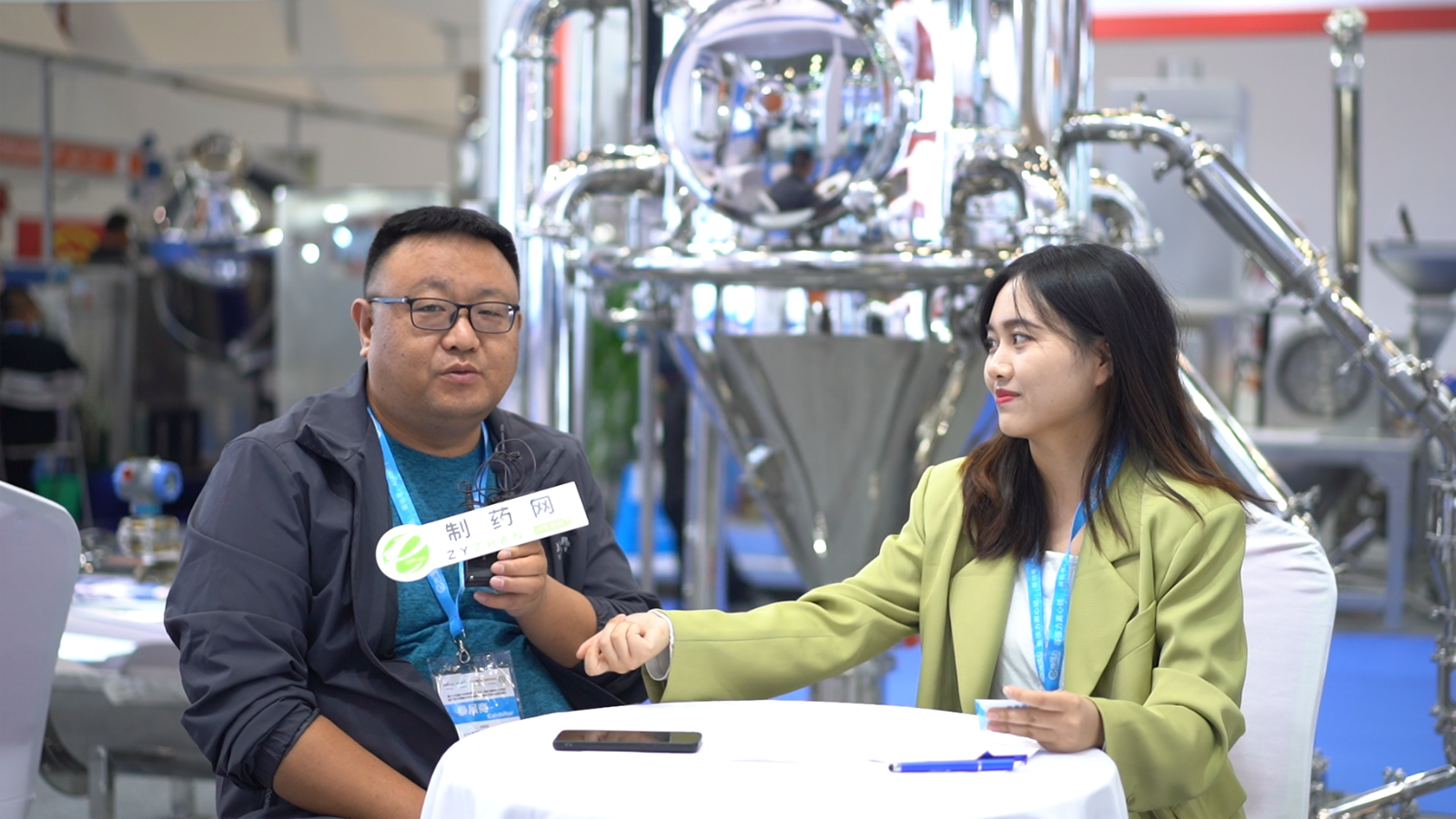 专访台州普渡机械设备有限公司总经理韦广海